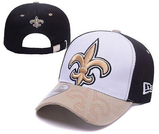 Boné New Era Aba Curva - New Orleans Saints
