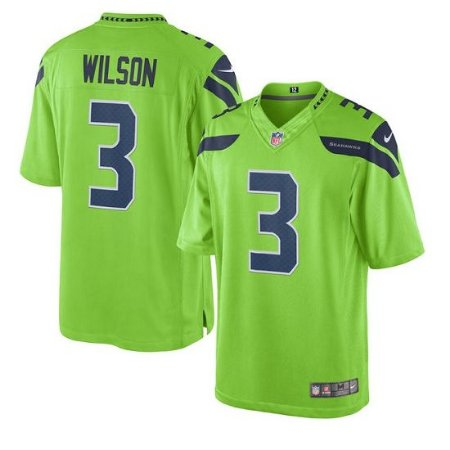 Camisa Seattle Seahawks Russell WILSON   3 Color Rush - Touchdown Store 95719645234