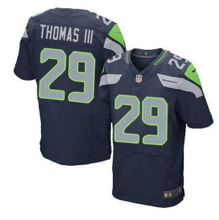 Jersey  Camisa Seattle Seahawks Earl THOMAS III # 3 Elite
