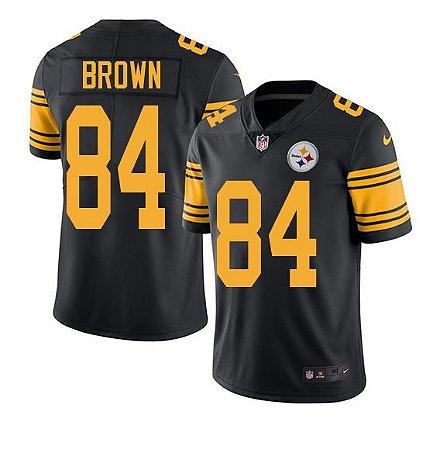 Jersey  Camisa Pittsburgh Steelers Antonio BROWN #84 Color Rush