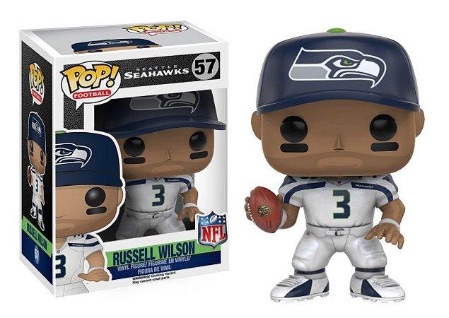 Boneco Funko Pop NFL Russell Wilson