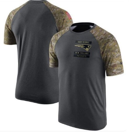340b30fb9a718 Camiseta Salute to Service - New England Patriots - Touchdown Store