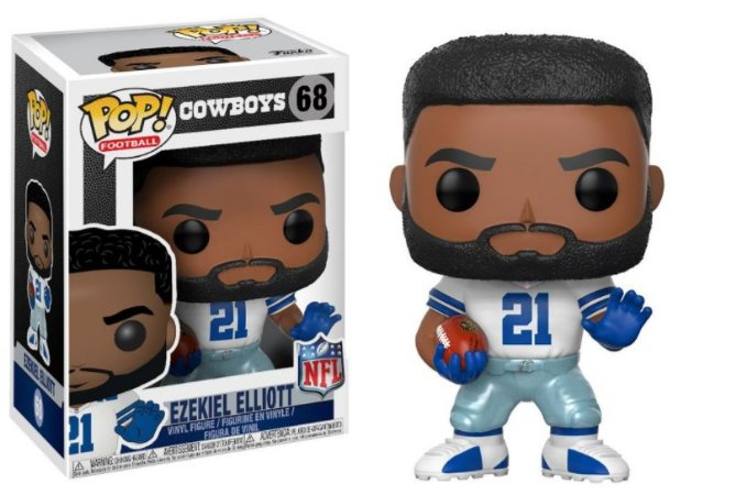 Boneco Funko Pop NFL Ezequiel ELLIOTT - Cowboys Home