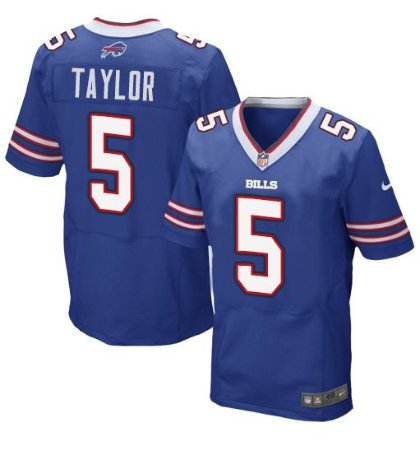 Jersey  Camisa Buffalo Bills Tyrod TAYLOR #5 Elite