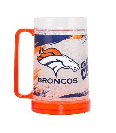 Caneca de  Chopp  e Cerveja NFL - Denver Broncos
