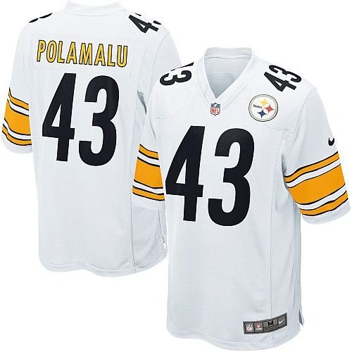 Camisa Pittsburgh Steelers Troy POLAMALU  43 Game - Touchdown Store 8af5e3b58bf