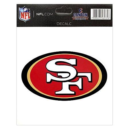 ADESIVO SAN FRANCISCO 49ERS LOGO - NFL