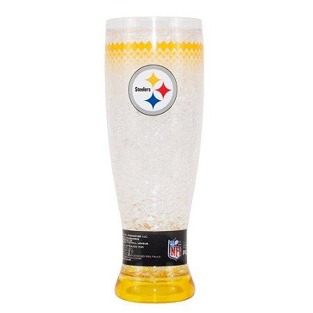 Copo Termico Chopp Ou Cerveja Pittsburgh Steelers 450ml Nfl