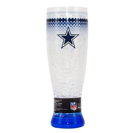 Copo Termico Chopp Ou Cerveja Dallas Cowboys 450ml NFL