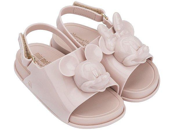 4e296bdf7 Mini Melissa Beach Slide Sandal + Disney BB Rosa Cameo - Sua loja de ...