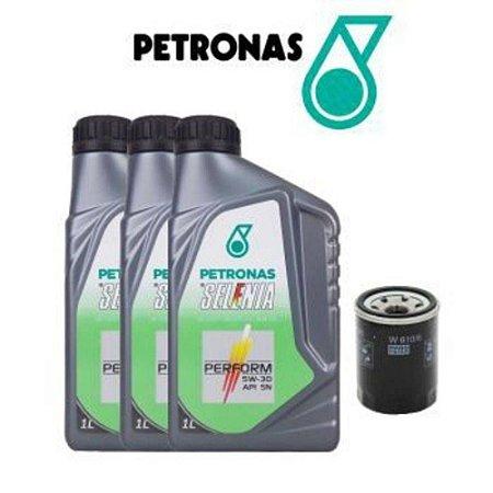 Kit troca de óleo Fiat  5W30 Selenia motor fire  + Filtro de óleo
