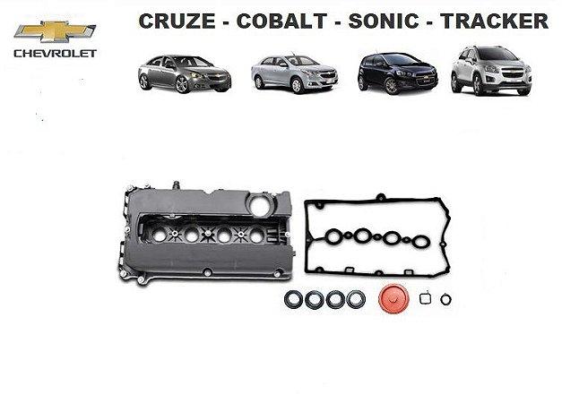 DUPLICADO - Tampa De Válvula - Cruze - Cobalt - Sonic - Tracker 1.6 1.8 Ecotec