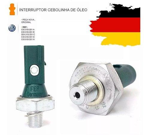 Interruptor Pressão Oleo Cebolinha Gol G5 Golf Fox Polo 1.6