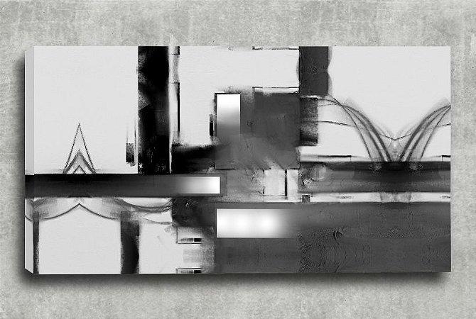 Quadro Decorativo Digital 55x100 Abstrato QDA02