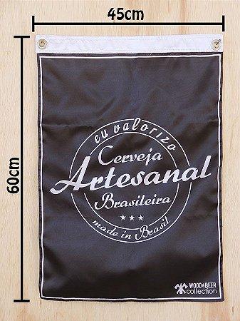 Bandeira Cerveja Artesanal Brasileira