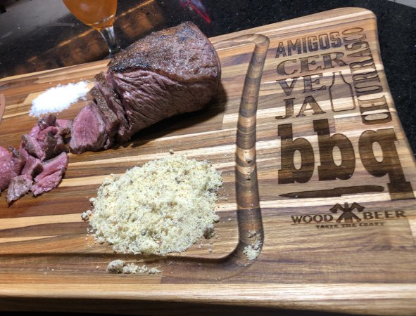 Tábua para churrasco -  Wood And Beer - Layout Paixões