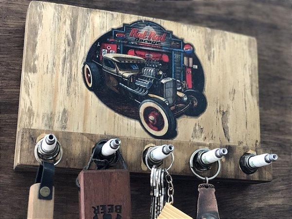 Porta Chaves Rat Rod