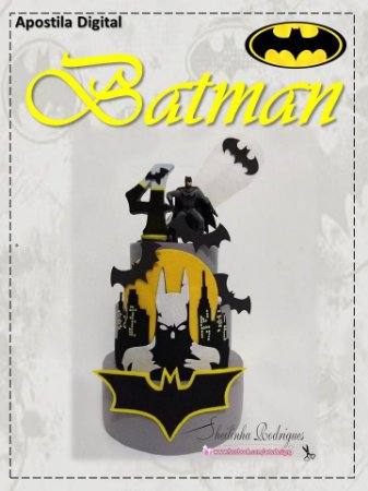 Apostila Digital Bolo Batman
