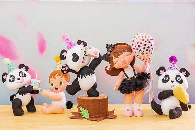 ESCOLA DE FELTRO - Curso Online Festa Panda (Clique no link na descrição para acessar o curso)