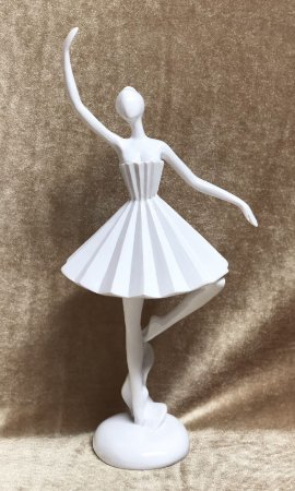 Bailarina de resina