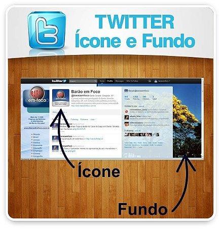 TWITTER - Criação de Ícone e Plano de Fundo