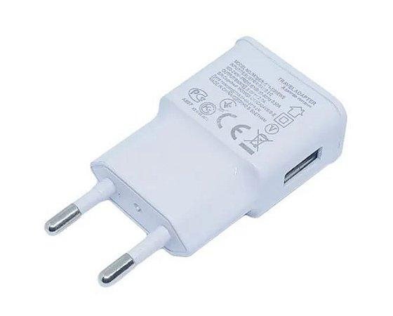 Fonte Carregador USB - Branco