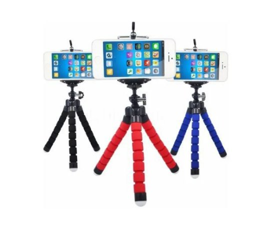 Tripé Smartphone Flexível - SPO-7036-U - INOVA
