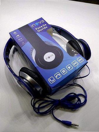 Fone de Ouvido com Microfone 40MM - FON-2066D