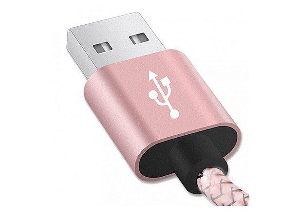 Cabo de Nylon USB iPhobe -  XTRAD - XT-5350