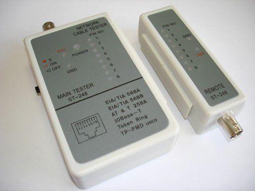 Testador de Cabo RJ45/BNC LK-248
