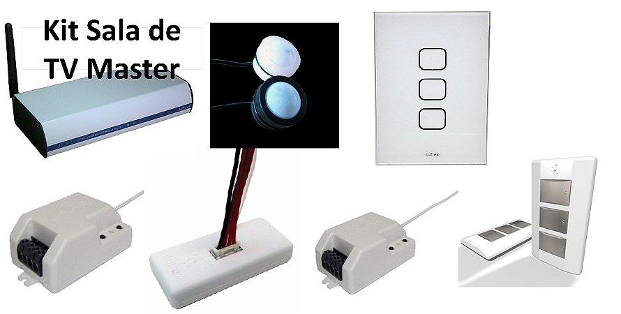 Kit Automação Sala de TV - Master