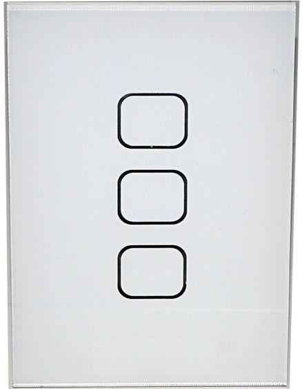 Interruptor Touch Simples ou Pulsador - 4x2