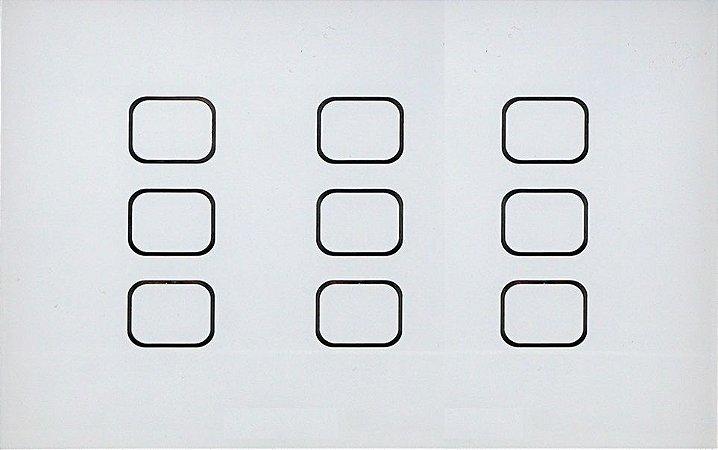 Interruptor Touch Simples ou Pulsador - 4x6