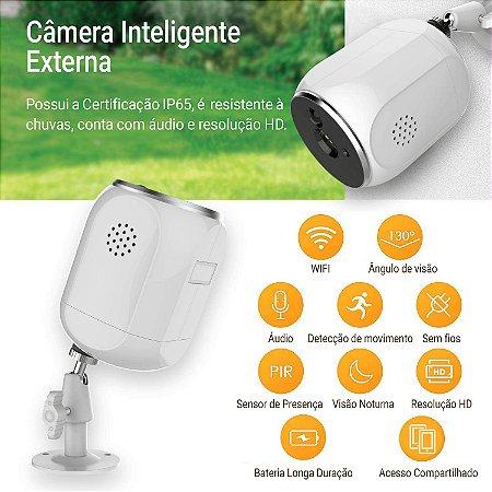 Câmera HD Inteligente Externa