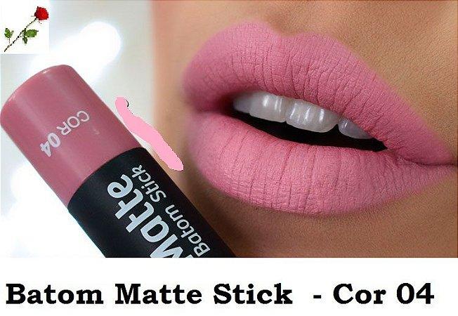 Batom Matte Stick Vult Cor 04