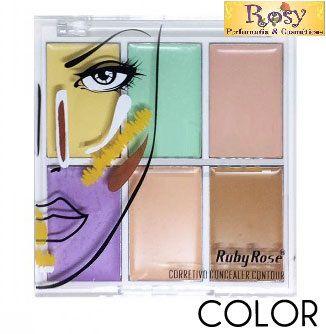 Corretivo Concealer Contour Color - Ruby Rose