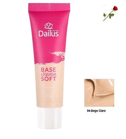 Base Matte Soft Dailus 04 Bege Claro