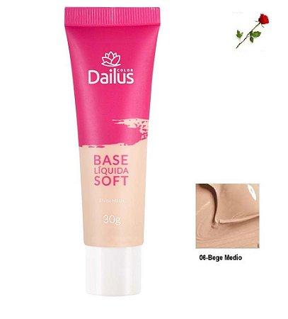 Base Matte Soft Dailus 06 Bege Medio