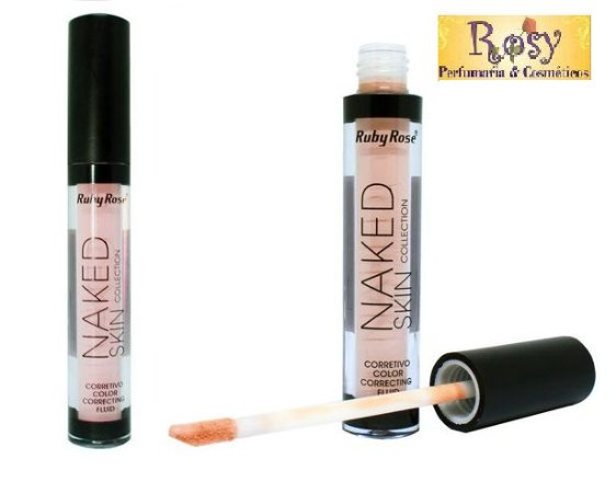 Corretivo Liquido Naked Color Bege Ruby Rose