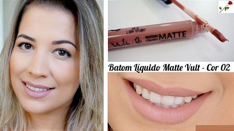 Batom Liquido Matte Cor 02 Vult