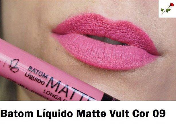 Batom Liquido Matte Cor 09 Vult