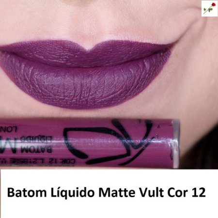 Batom Liquido Matte Cor 12 Vult
