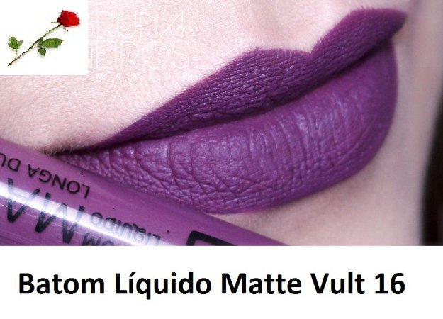 Batom Liquido Matte Cor 16 Vult