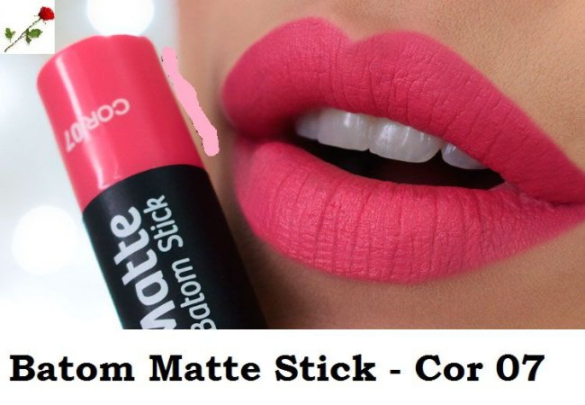 Batom Matte Stick Vult Cor 07