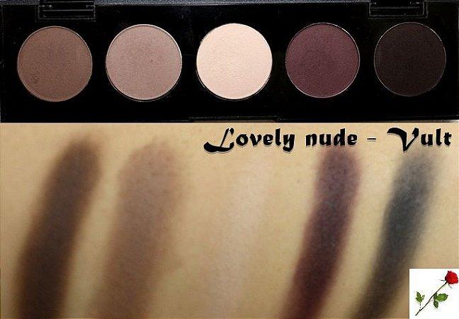Quinteto de Sombras Lovely Nude Vult