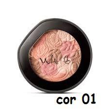 Blush Compacto Mosaico Vult Cor 01