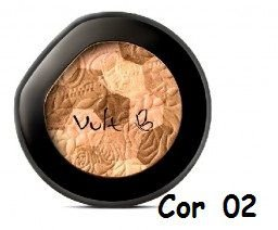 Blush Compacto Mosaico Vult Cor 02