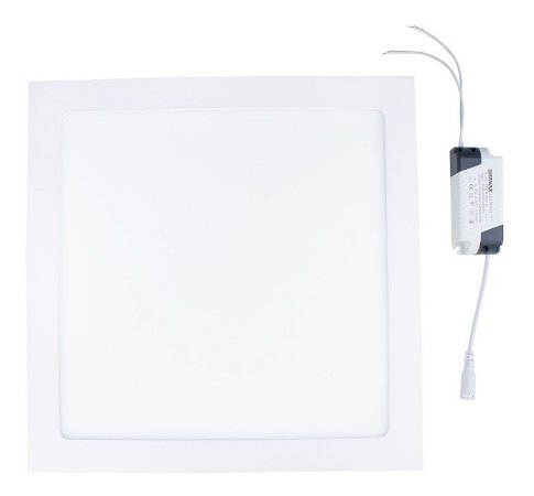 Painel Plafon Led 25W Embutir Branco Frio Bivolt