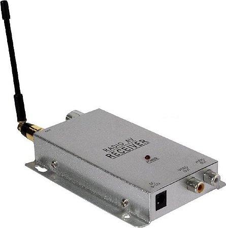 Receptor Para Câmera Sem Fio - Só O Receptor 1.2ghz