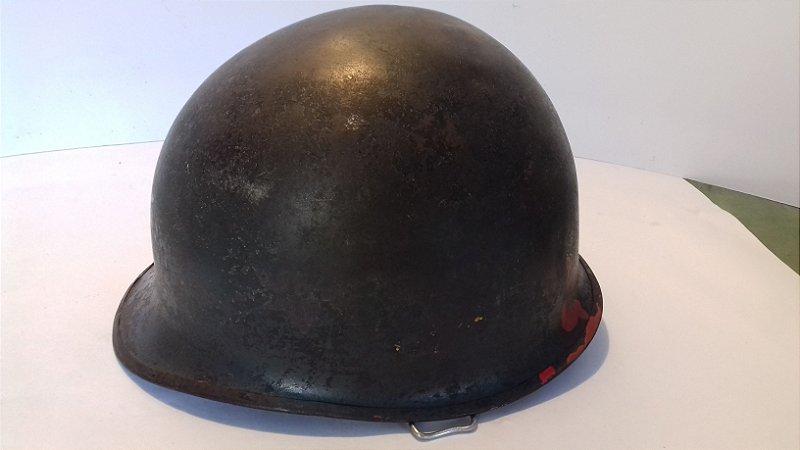 Capacete Militar Americano Antigo Seg Guerra M 1 Usa 1189a